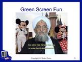 Greenscreenfun
