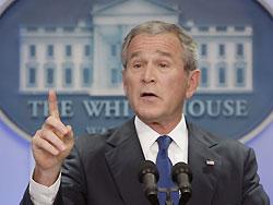 Bush iran nuklear