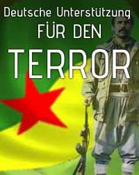 Deutsche Unterstützung für den Terror
