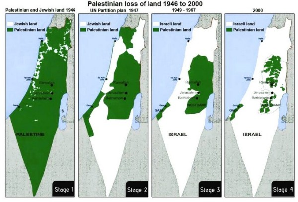 Palestine-israel-loss-land-1946-to-2000