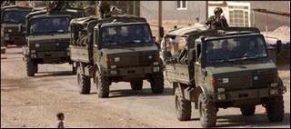 Tuerkische soldaten