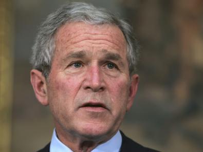 US-Präsident Bush führt die Liste mit den meisten falschen Behauptungen zum Irak an.