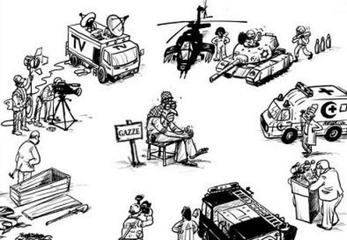 Gaza-medien